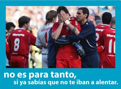 Cargadas de Racing a Independiente