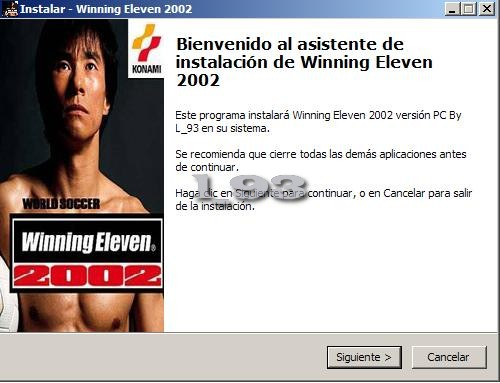 Winning Eleven 2002 pc Winning Eleven 2002 Versión pc