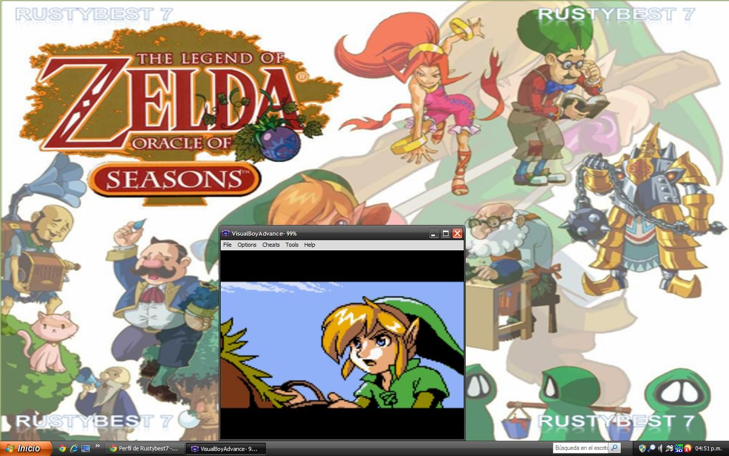 the legend of zelda program